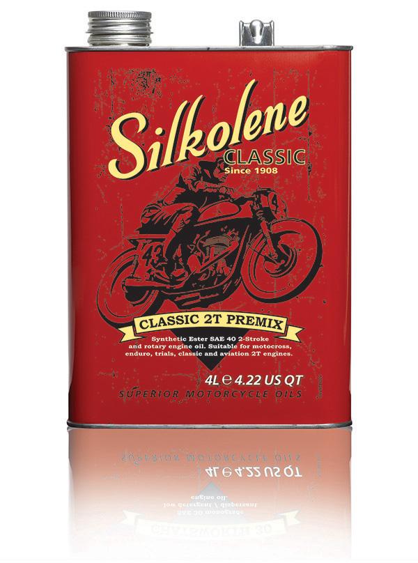Classic 2T Premix - FUCHS Silkolene - Superior Motorcycle Oils