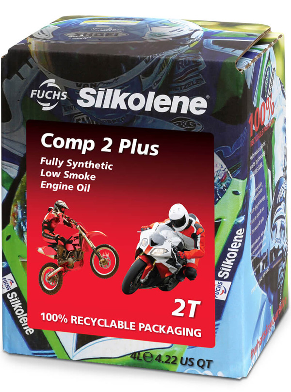 FUCHS Silkolene Comp 2 Plus Motorcycle Oil