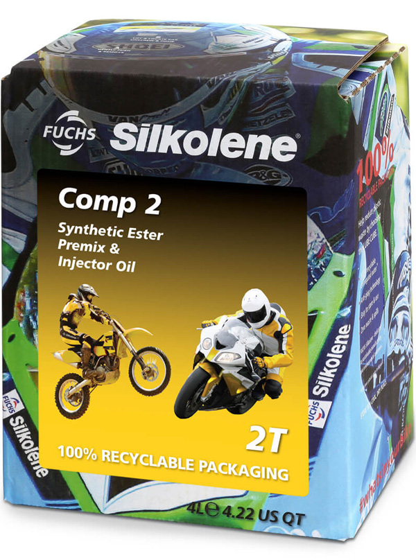 FUCHS Silkolene Comp 2 Motorcycle Oil