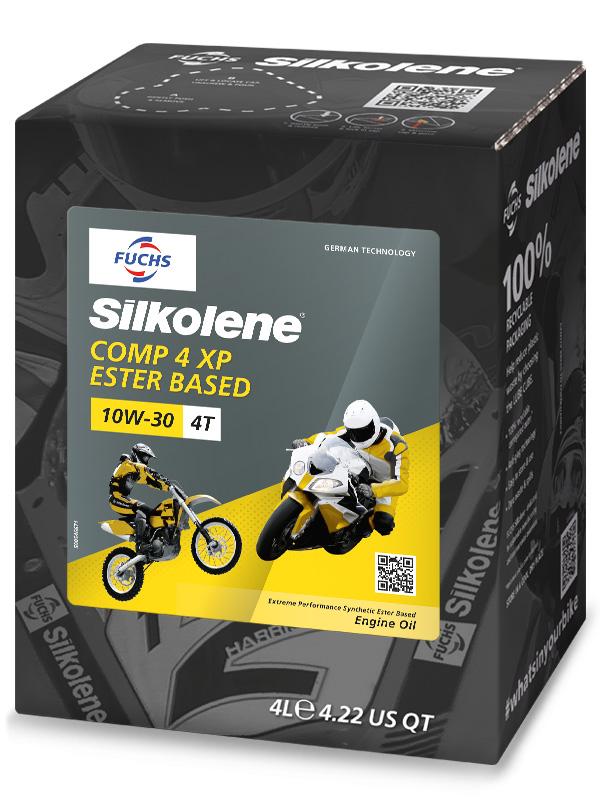 Comp 4 10w 30 Xp Fuchs Silkolene Superior Motorcycle Oils