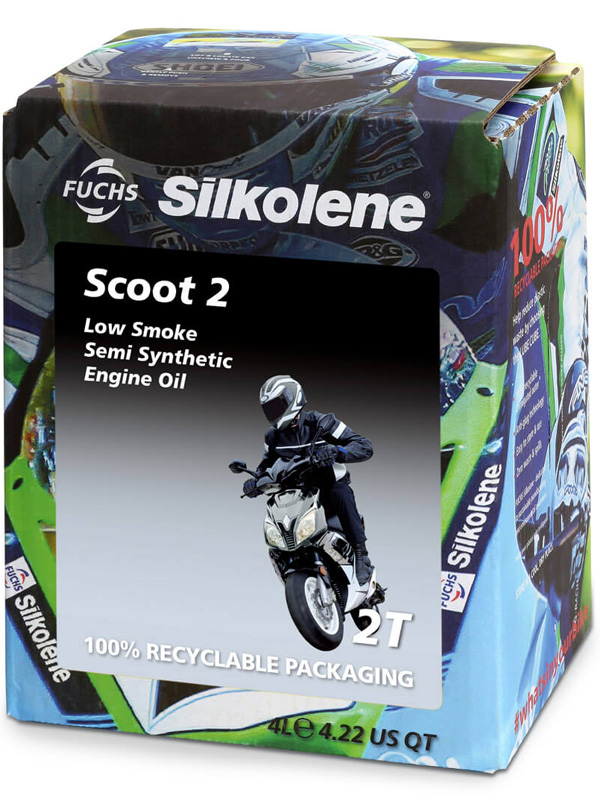 FUCHS Silkolene Scoot 2 Motorcycle Oil