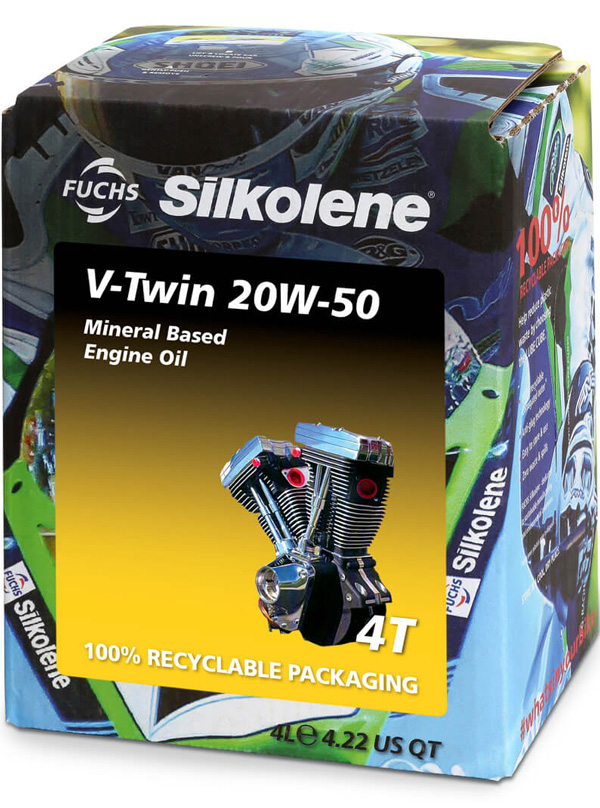 FUCHS Silkolene V-Twin 20W-50 Motorcycle Oil