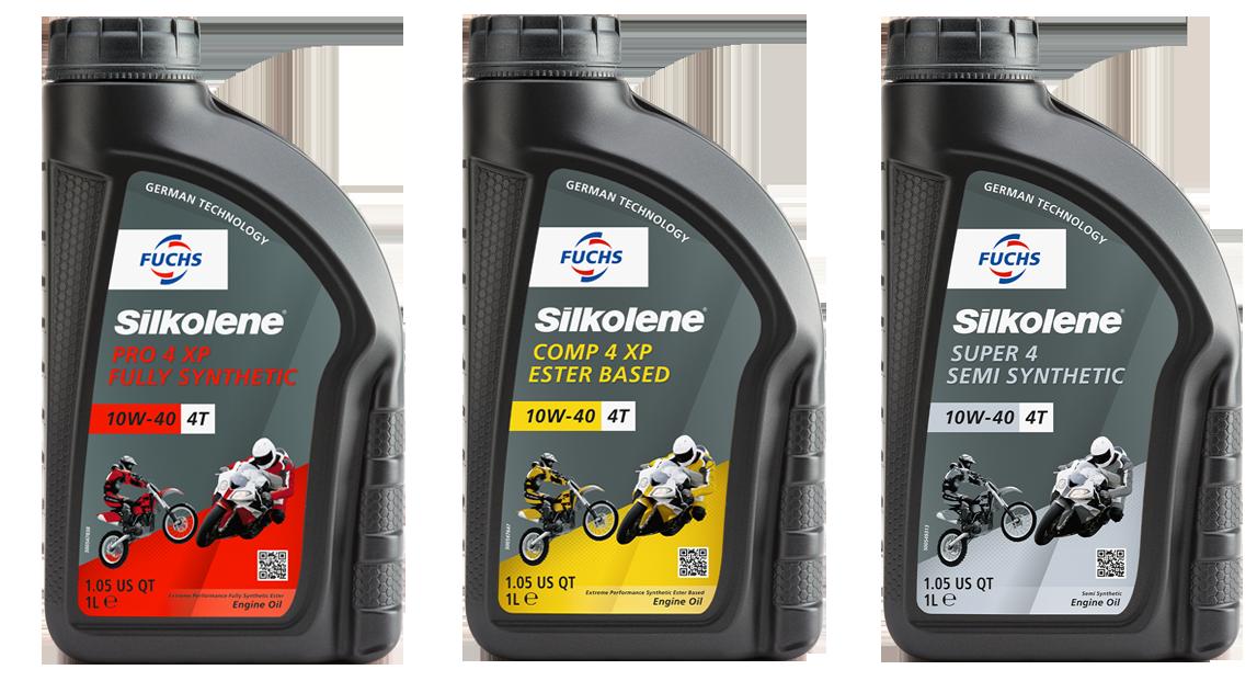 FUCHS Silkolene - Superior Motorcycle Oils