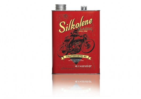 FUCHS Silkolene Chatsworth 40 Motorcycle Oil