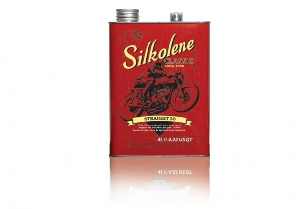 FUCHS Silkolene Straight 30 Motorcycle Oil